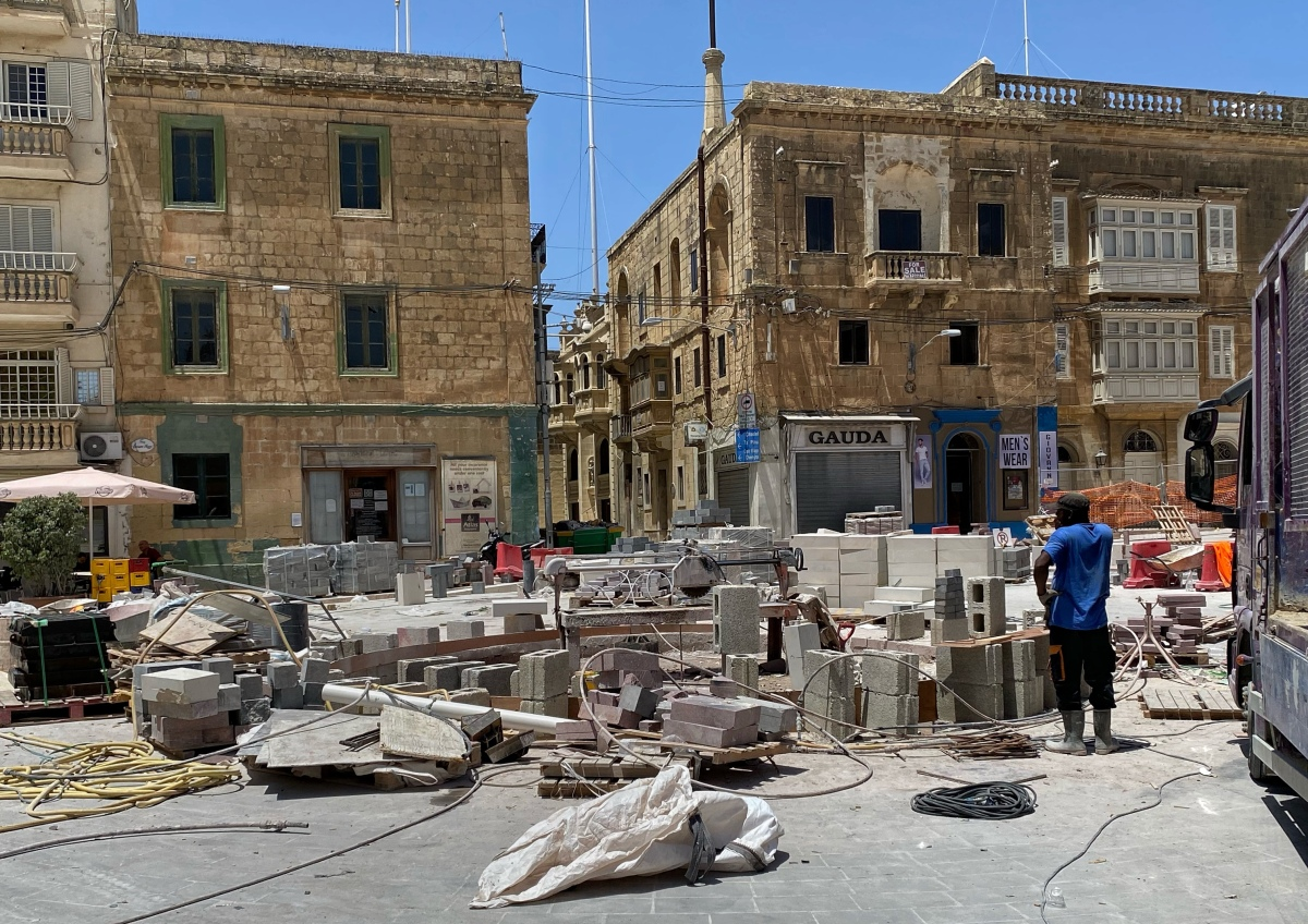 Victoria, Gozo: St. Francis Square is amess