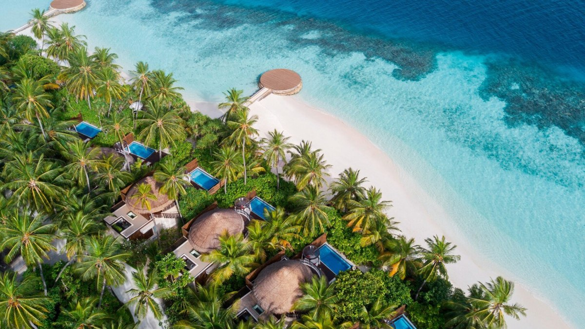 Is this the prettiest beach in theMaldives?